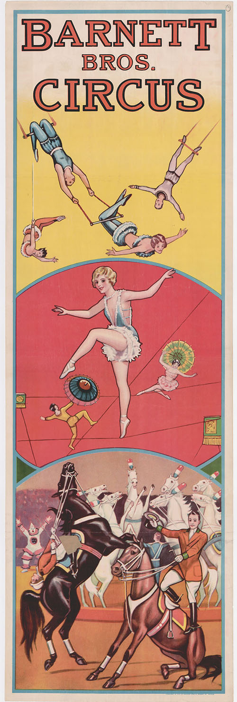 barnett circus poster
